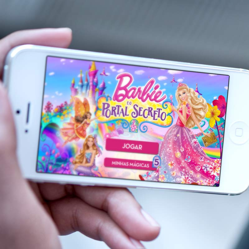 App Barbie e o Portal Secreto