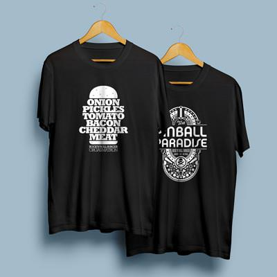 Camisetas Rock'n'Roll Burger